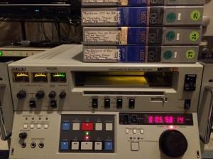 "Umatic 3/4"" videotape"